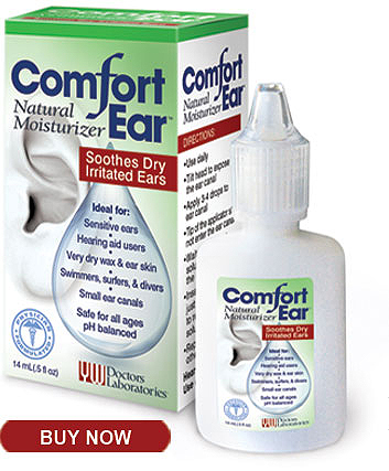 Comfort Ear - Ear Drops that Soothe and Moisturize Dry, Irritated Ears